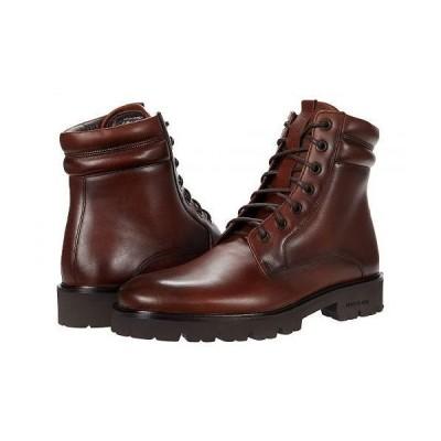 Kenneth Cole New York ケネスコールニューヨーク メンズ 男性用 シューズ 靴 ブーツ レースアップ 編み上げ Rhode Lug Boot - Brown