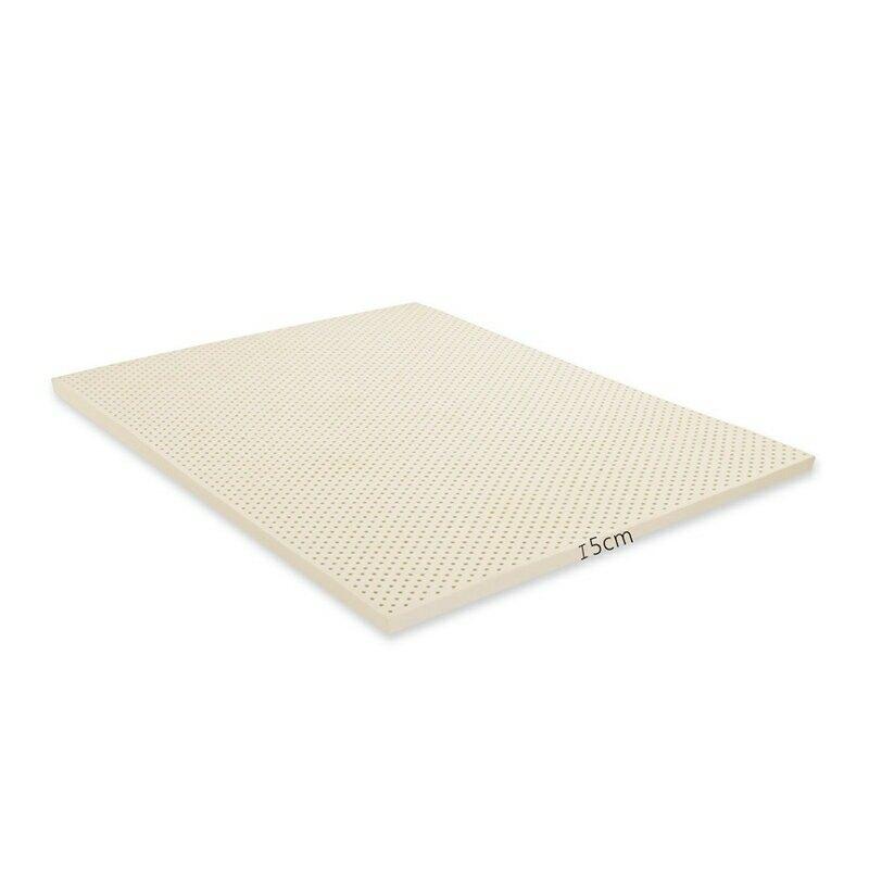 單人加大3.5x6.2尺x5cm全新生產製程鑽石切片乳膠百萬馬來天然乳膠床墊/班尼斯國際名床