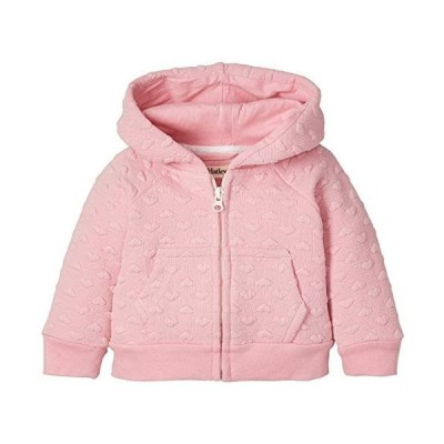 Hatley ハットレイ Pink Hearts Quilted Baby Hoodie