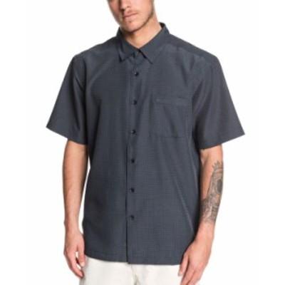 クイックシルバー メンズ シャツ トップス Men's Centinela 4 Short Sleeve Shirt Black