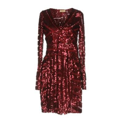 リュー ジョー LIU •JO ミニワンピース&ドレス ボルドー 42 ナイロン 100% ミニワンピース&ドレス