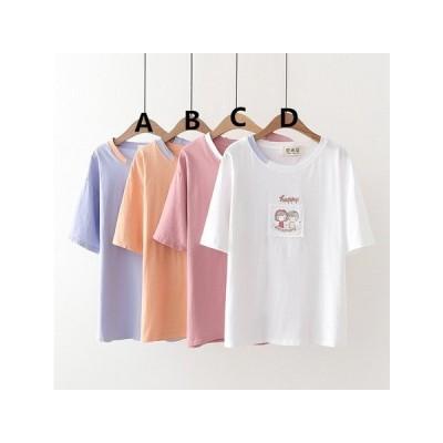 AF1019# 2020夏レディース半袖Tシャツ    YWQB171