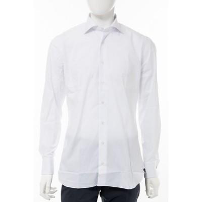 ラルディーニ シャツ カッターシャツ ワイシャツ 長袖 EIARRIGO CNC2009 100 メンズ EIARRIGOCNC2009 ホワイト 2020年春夏新作 LARDINI