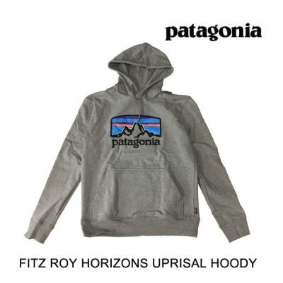 PATAGONIA パタゴニア フィッツロイ ホライゾンズ アップライザル メンズ フーディ FITZ ROY HORIZONS UPRISAL HOODY GLH GRAVEL HEATHER 39583