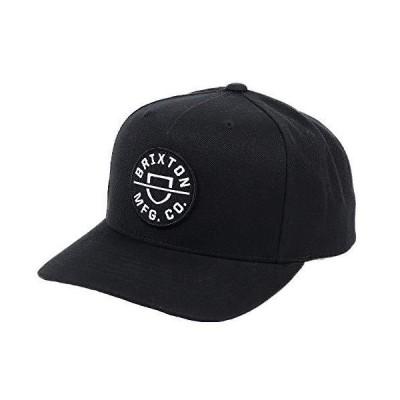 BRIXTON ブリクストン キャップ メンズ CREST C MP SNBK CAP 帽子 スナップバック スケーター スケートブランド