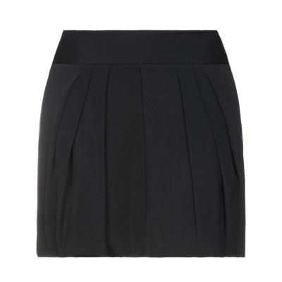 ブルーガール ブルマリン BLUGIRL BLUMARINE ミニスカート ブラック 44 アセテート 74% / シルク 26% ミニスカート