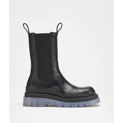 ボッテガヴェネタ BOTTEGA VENETA ショートブーツ ブーツ シューズ 靴 ブラック トランスパレント カーフレザー