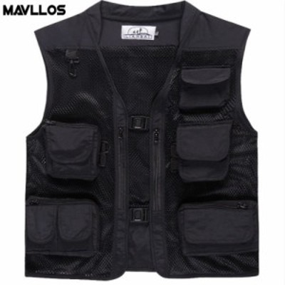 Mavllos Summer New Outdoor Life Vest For Fishing Photography Vest Multi Pack Fly Fishing