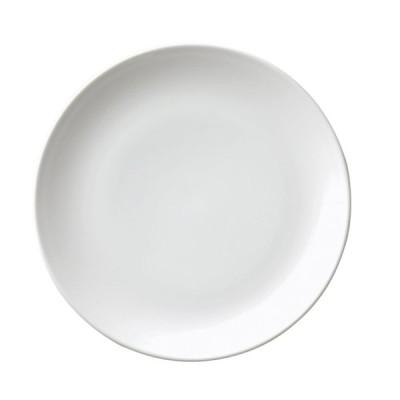 (業務用・丸皿)白磁中華 14吋メタ丸皿(入数:5)