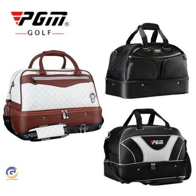 ゴルフバッグ 二段 ゴルフ用バッグ ボストンバッグ トートバッグ スポーツ シューズ収納付き ショルダーバッグ カバン 2way 防水