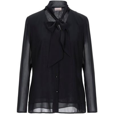 ALEX VIDAL シャツ ブラック 38 ポリエステル 100% シャツ