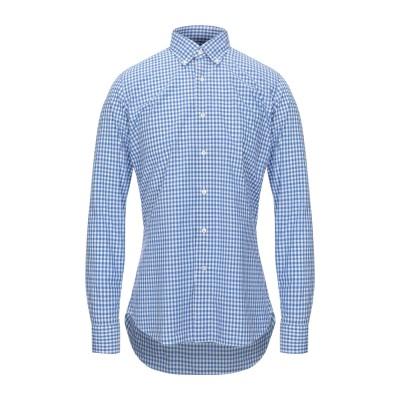 ALEA シャツ ブルー 38 コットン 100% シャツ