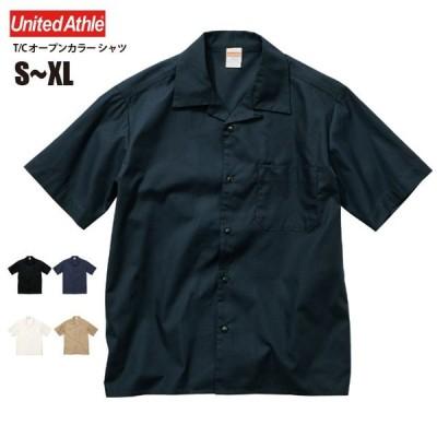 T/C オープンカラー シャツ #1759-01 S~XL メンズ