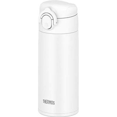 【食洗機対応モデル】サーモス 水筒 真空断熱ケータイマグ ワンタッチオープンタイプ 0.35l ホワイト jok-350 wh