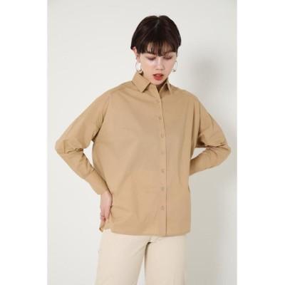 (SHEL'TTER SELECT/シェルターセレクト)オーバーシャツ(Over Shirt)/レディース BEG