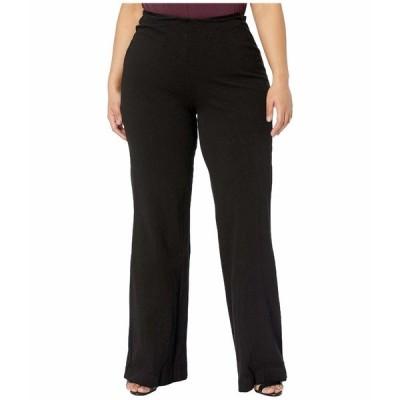 リジー デニム ボトムス レディース Plus Size Denim Trousers Black