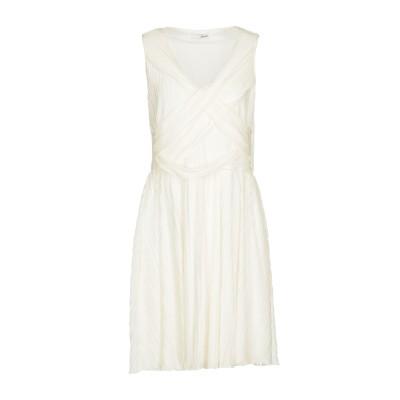 レリッシュ RELISH ミニワンピース&ドレス ホワイト L ポリエステル 100% ミニワンピース&ドレス