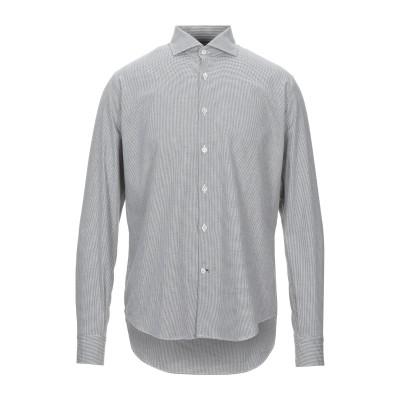 BARBATI シャツ グレー 41 コットン 100% シャツ
