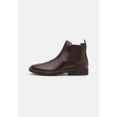 ラルフローレン メンズ ブーツ&レインブーツ シューズ TALAN CHLSEA - Classic ankle boots - polo brown polo brown