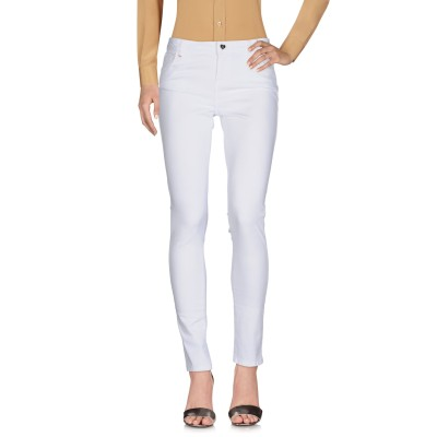 MY TWIN TWINSET パンツ ホワイト 25 コットン 88% / ポリエステル 10% / ポリウレタン 2% パンツ