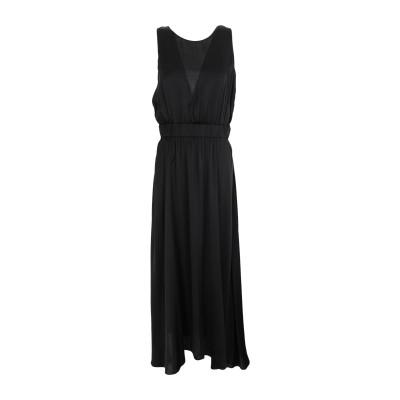フォルテ フォルテ FORTE_FORTE ロングワンピース&ドレス ブラック 2 レーヨン 100% ロングワンピース&ドレス