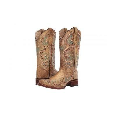 Corral Boots コーラルブーツ レディース 女性用 シューズ 靴 ブーツ ウエスタンブーツ L5512 - Gold