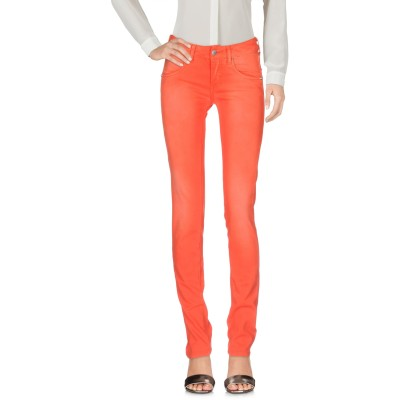 メット MET JEANS パンツ オレンジ 24 コットン 98% / ポリウレタン 2% パンツ