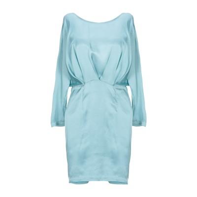 スーベニア SOUVENIR ミニワンピース&ドレス スカイブルー S レーヨン 100% ミニワンピース&ドレス
