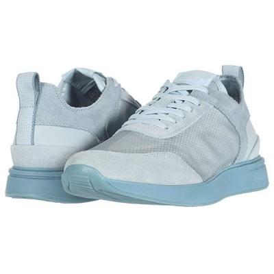 カルバン・クライン Delbert メンズ スニーカー 靴 シューズ Metal Blue/Petal Blue/Translucent Mesh/Silky Suede/Lycra