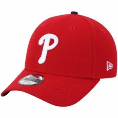 New Era ニュー エラ スポーツ用品  New Era Philadelphia Phillies Youth Red The League 9FORTY Adjustable Hat