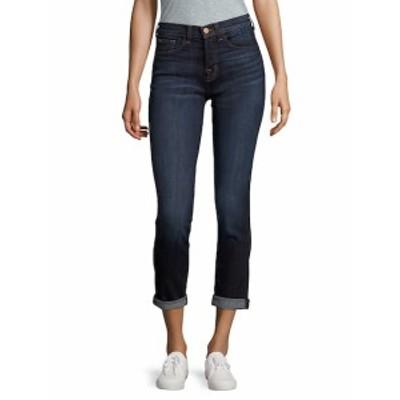 J ブランド レディース パンツ デニム Whiskered Cotton-Blend Jeans
