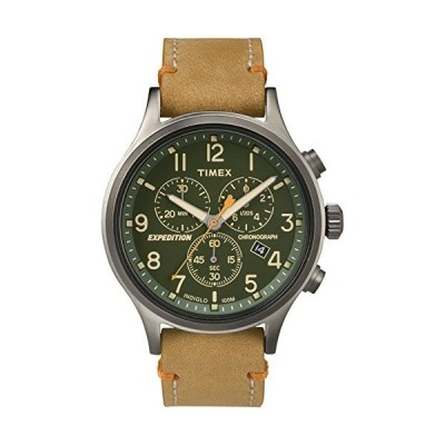 当店1年保証 タイメックスTimex Expedition TW4B04400 Scout Chrono Men Watch, Tan/Green/Gunmetal