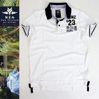 NEW ZEALAND AUCKLAND 鹿の子 ポロシャツ 【ニュージーランド発】