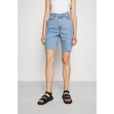 ドクターデニム レディース デニムショーツ ECHO - Denim shorts - empress light blue