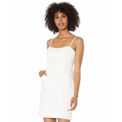 リリーピュリッツァー レディース ワンピース トップス Shelli Dress Resort White Large Petal Eyelet