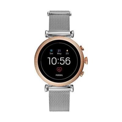 [フォッシル] 腕時計 SLOAN HR FTW6043J レディース 正規輸入品 シルバー