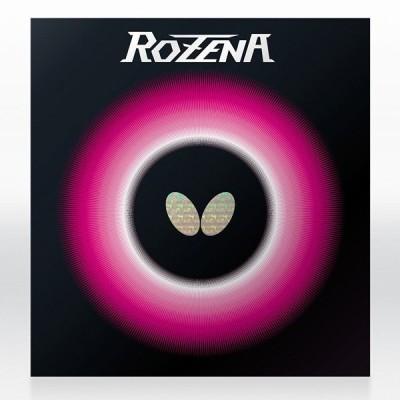 卓球 ラバー 卓球ラバー Butterfly バタフライ ロゼナ ROZENA 裏ソフトラバー aaa0075 ネコポス便送料無料