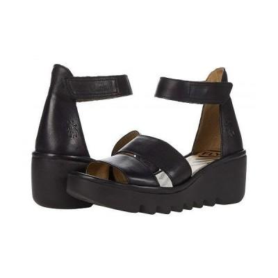 FLY LONDON フライロンドン レディース 女性用 シューズ 靴 ヒール BONO290FLY - Black Verona Leather