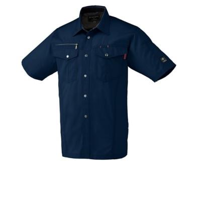 KURODARUMA 26593 サマーツイル半袖シャツ 作業服