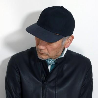 ステットソン 帽子 キャップ パラフィン メンズ STETSON 帆布 パラフィンコート アウトドア ブランド 黒 ブラック