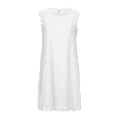 BRIGITTE BARDOT ミニワンピース&ドレス ホワイト 0 コットン 100% ミニワンピース&ドレス