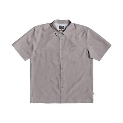 クイックシルバー シャツ トップス メンズ Men's Centinela 4 Short Sleeve Shirt Medium Gray
