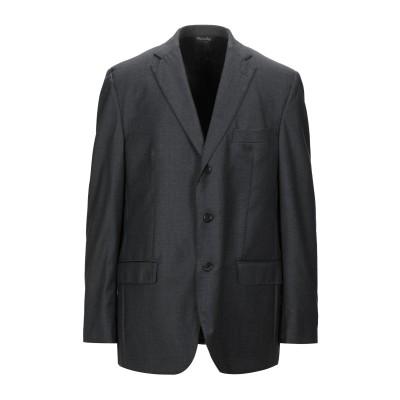 GI CAPRI テーラードジャケット 鉛色 58 ウール 100% テーラードジャケット