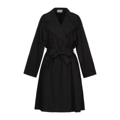 ハイケ HACHE コート ブラック 38 コットン 97% / ポリウレタン 3% コート