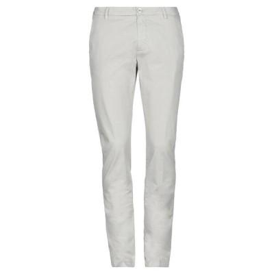 AGLINI チノパンツ ファッション  メンズファッション  ボトムス、パンツ  チノパン ライトグレー