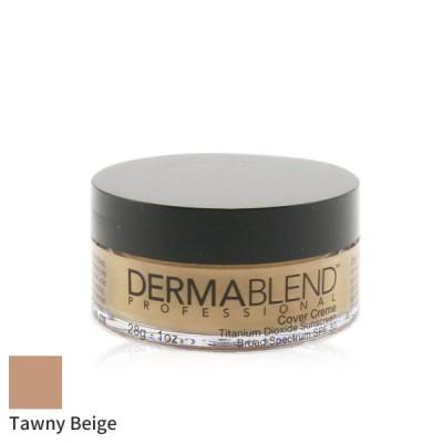 ダーマブレンド リキッドファンデーション Dermablend Cover Creme Broad Spectrum SPF30 (High Color Coverage) Tawny Beige (Exp. Date 02/2022)