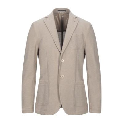 パオローニ PAOLONI テーラードジャケット ベージュ 52 コットン 100% テーラードジャケット
