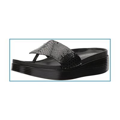 新品Donald J Pliner Women's FIFI19 Slide Sandal, Black, 9.5 Medium US【並行輸入品】