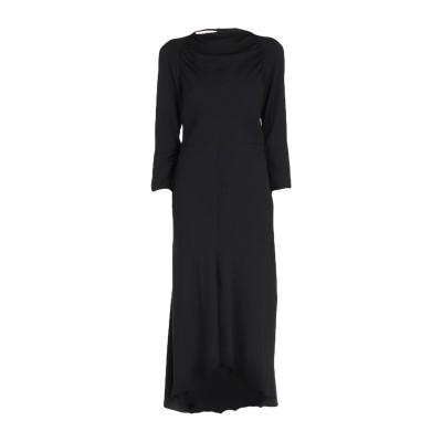 マルニ MARNI 7分丈ワンピース・ドレス ブラック 42 58% レーヨン 42% アセテート 7分丈ワンピース・ドレス