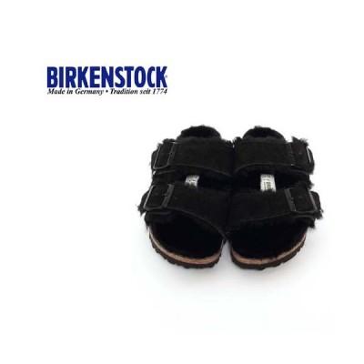 レディース/BIRKENSTOCK/ビルケンシュトック/ARIZONA/アリゾナ/ファーライナー/ブラック/品番:752663/MADE IN GARMANY